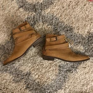 Free People Farylrobin Pointed Toe Ankle Boots